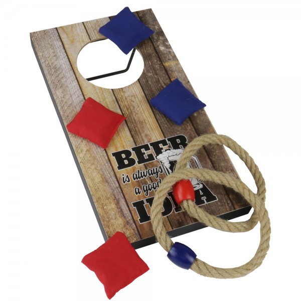 Bag & Ring Toss Trinkspiel (2 in 1)